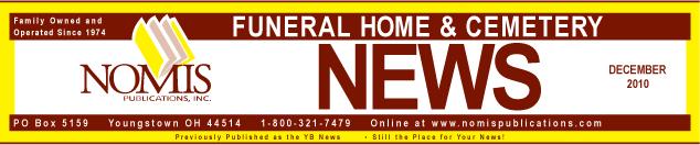 Funeral Home News December 12, 2010
