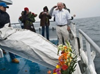 Full Body Burials at Sea