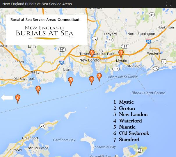 Connecticut-Burials-at-Sea-Locations
