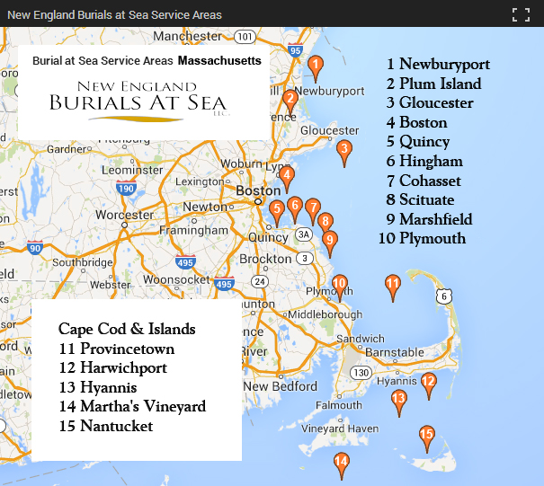 Massachusetts Burials At Sea New England Burials At Sea
