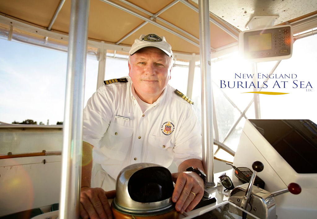 Captain Brad White of New England Burials At Sea