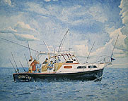 Boat Portrait Paintings