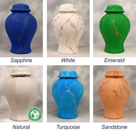 Sea Urn Colors