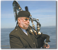 Bag Pipes Available for Ash Scattering Ceremonies