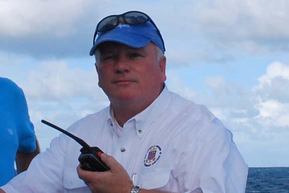 Capt Brad White on Deck