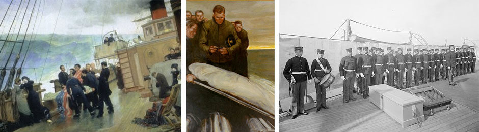 The History and Tradition of Burials At Sea