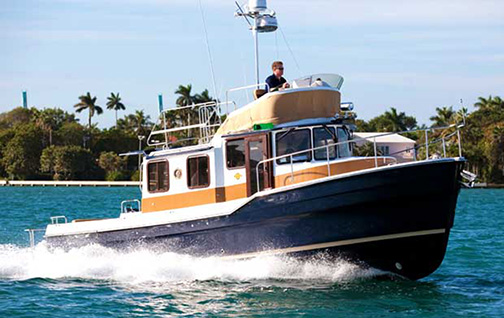 31' Ragner Tug Boat.